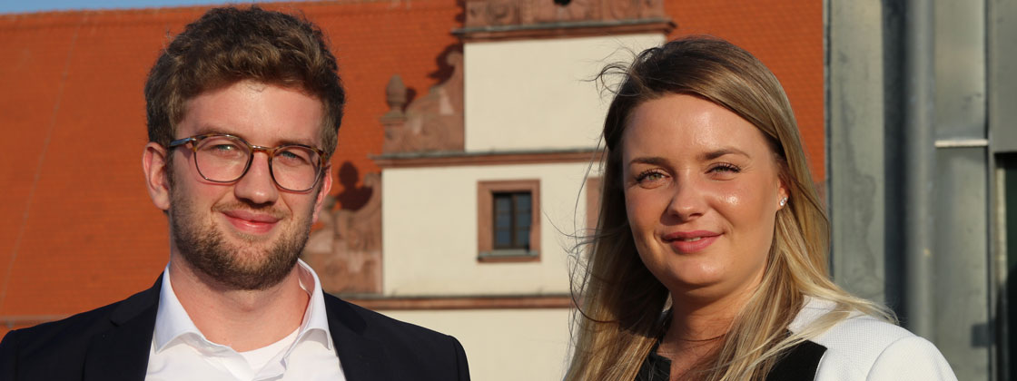 Bild: Interview mit Josefin & Christian, COSMO CONSULT Magdeburg