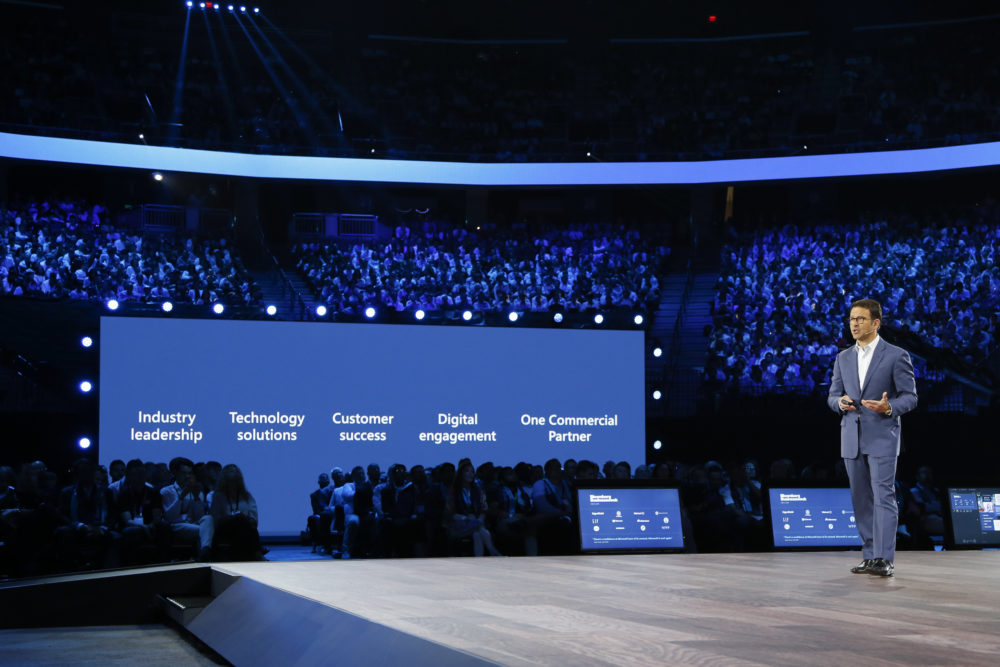 Judson Althoff, Executive Vice President of Worldwide Commercial Business, bei Microsoft Inspire 2019.